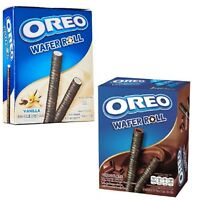 54 G Oreo Wafer Roll Chocolate Vanilla Snack Food Gift party Delicious
