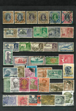 BRITISH INDIA & EARLY REPUBLIC Page of Quality Used Large Stamps to 10 Rupees