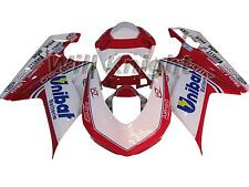 Body Kit for Ducati 848 1098 1198 2007 2008 2009 2010 2011 White Red Unibat Edit