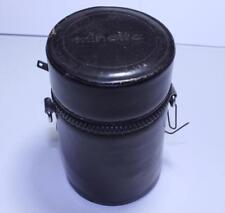 "Minolta Rokkor MC F3.5/ 135mm Soft Lens Storage Case 4"" deep"
