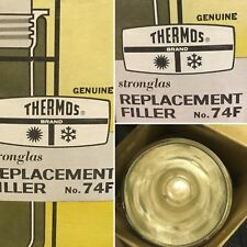 Vtg Thermos Brand Replacement StronGlas Vacuum Liner Filler 74F  Wide Mouth
