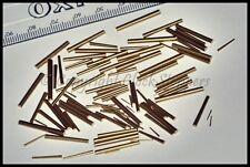 Surtidos De Latón Forma Cónica Pines para relojes de las piezas de reparación HERRAMIENTAS Servicio Repuestos Reloj