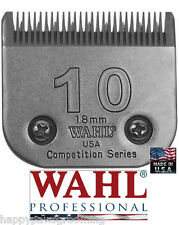 """Wahl Competition Series 10 Blade 1/16"""" -1.8mm*Fit Most Oster,Andis,A5/AG Clipper"""
