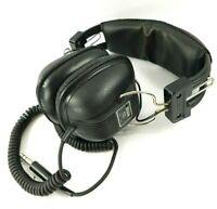 Invitca 3000 Studio Headphones Audio Stereo Music 8 OHM Black Vintage