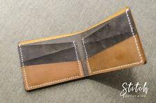 Bifold Wallet Crazy Horse Leather - Stitch Leatherwork