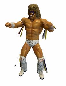 "Jakks WWE WWF Ultimate Warrior Unmatched Fury Platinum Edition  2008 FIGURE 8"""