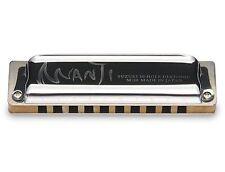 Suzuki Harmonica Manji M-20 Professional Diatonic 10-Hole Key of Low D Japanese