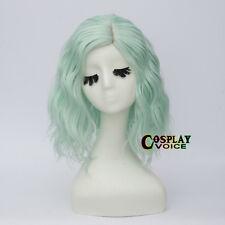 13 Colours 35cm Lolita Curly Heat Resistant Halloween Medium Long Cosplay Wig