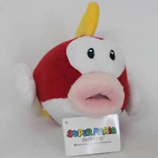 "Super Mario Bros. 3D World Flying Fish 6"" Plush Toy Character Stuffed Animal"