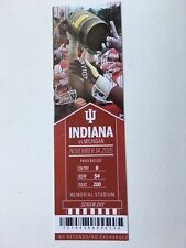 2015 Michigan Wolverines vs Indiana Hoosiers Ticket
