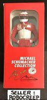 MICHAEL SCHUMACHER 1/18 FERRARI 1997 FIGURE PAULS MODEL ART FORMULA ONE F1