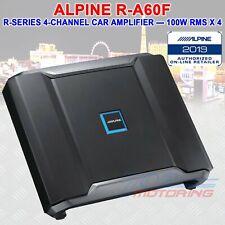 ALPINE R-A60F R-SERIES CLASS D 4-CHANNEL CAR AMPLIFIER, 100 WATTS RMS x 4 4/3/2