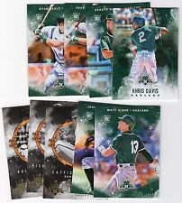 2017 Diamond Kings Oakland Athletics MASTER Team Set W/Inserts RCs Ryan Healy