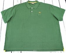 McDonald's Polo Shirt Green Size 4XL Best price *  *** REDUCED TO CLEAR***
