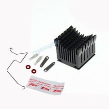 DIY Black Aluminium Heatsink Fan Cooler For Northbridge IC Chip Chipset Cooling