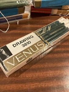 Venus Drawing 3810 Pencils , 6H, Box Of 12 Unused Pencils.