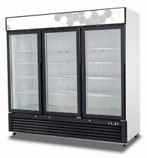 Congeladores y freezers con puertas de vidrio