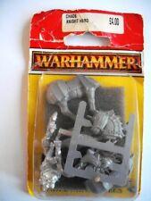 WARHAMMER montato il caos cavaliere eroe in blister EDIZIONE 1995