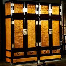 Armoire Wooden Storage Cabinet Closet Silkwood Golden Phoebe JinsiNan 金絲楠木 #1179