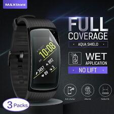 For Samsung Gear Fit 2 Pro Full Coverage Screen Protector,MaxShield Aqua HD Film