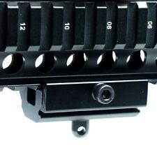 Original Bipod Sling Swivel Stud to 20mm Picatinny / Weaver Rail Adapter Black