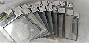 Darice Embossing Folder - CLOUDS CITY TRAVEL WEATHER NAUTICAL WAVES *LAST STOCK*