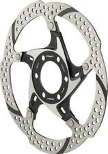 TRP 33 160mm Heat Dispersion 6-Bolt Disc Brake Rotor: 2 Piece Silver and Black