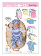 Butterick Sewing pattern B5585 SZ Prem-S Babies Easy Layette Romper Jacket Hat