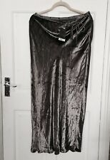 Principles Crushed Velvet Lilac Maxi Skirt/ Size 14 UK  / New