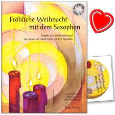 Fröhliche Weihnacht mit dem Saxophon (Tenor) - Rapp Verlag - WS - 9990051431124