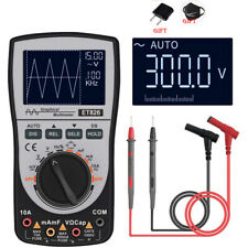 2in1 Digital Oscilloscope Lcd Display Intelligent Multimeter Diode Tester Acdc