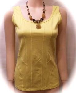 Traumhaft Biba Shirt/ Top Yellow Zebra Lemon  Neu Gr. 2 M 38-40