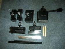 New listing Premium Atlas Craftsman 6 Inch Swing Lathe 0Xa Quick Change Tool Post+Tooling