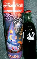 COKE BOTTLE DISNEY 100 YEARS OF MAGIC(MICKEY)( WITH TUBE).....( RARE)  HTF