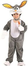 Costume Girl Boy Rabbit BUGS BUNNY 6 years Animal Child Drawing Cartoon NEW