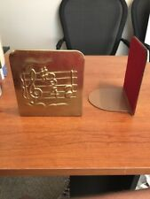 Vintage Music Note Metal Bookends Free Shipping
