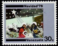 SELLOS NAVIDAD VENEZUELA 1976 1004  1v.