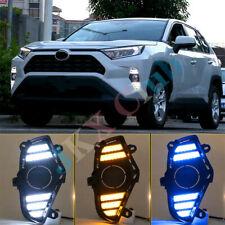 LED DRL Daytime Running Fog Light Lamp h For Toyota RAV4 19~20 Left & Right 2x