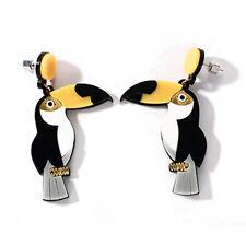 1pair toco toucan earrings,common toucan bird ear rings,exaggerate ear rings