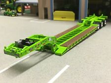 1/64 DCP LIME GREEN FONTAINE MAGNITUDE LOWBOY TRAILER