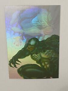 1995 Fleer Ultra Spider-Man Holoblast Venom #6 of 6