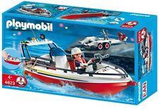 Playmobil 4823 - Bomberos Bote Con Remolque - NUEVO