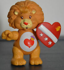 Vintage Poseable Toy Figure BRAVE HEART LION Care Bear Cousin COMPLETE ACCESSORY