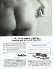 Publicité Advertising 127  1980  Slendertone    appareil amincissant seins hanch