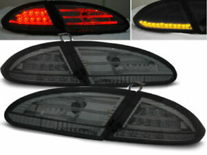 SEAT LEON 1P ALL SMOKED LED TAIL LIGHTS 2005-2009 MODEL