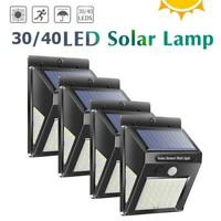 30-70LED Solar Sensor de Movimiento Pir Pared Manera Lámpara Impermeable Paisaje