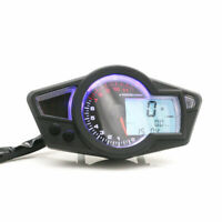 Universel réglable LCD numérique Kmh / Mph Tachymètre de compteur kilométrique