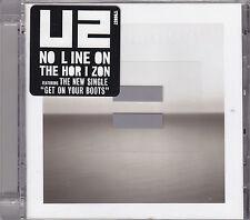 U2 - no line on the horizon CD