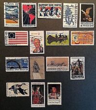 US, 16 1968 DANIEL BOONE, YOUTH Stamps, Used, See Descr, Scott#1339-1364   USU41