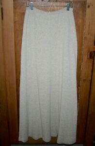 Fitigues women's skirt,vtg. Made in USA, Med, thermal/waffle weave cotton, long